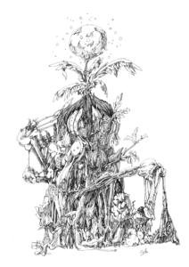 深淵の植物