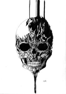頭蓋骨トライバル